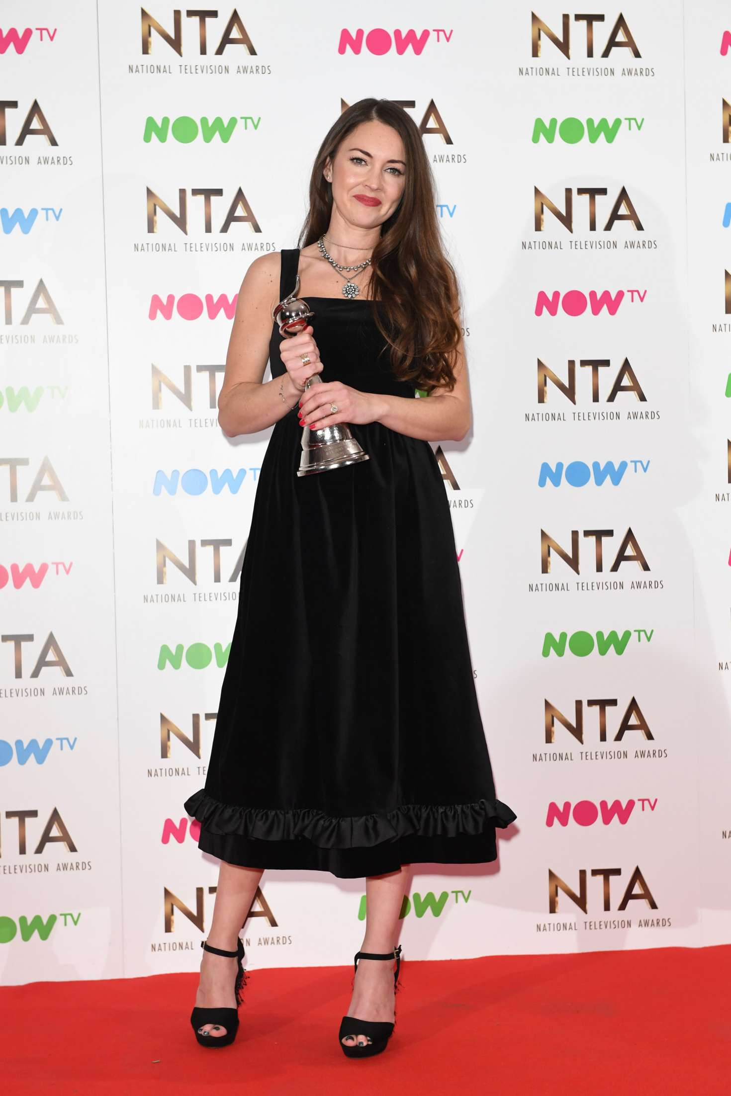 Lacey Turner - 2017 National Television Awards in London