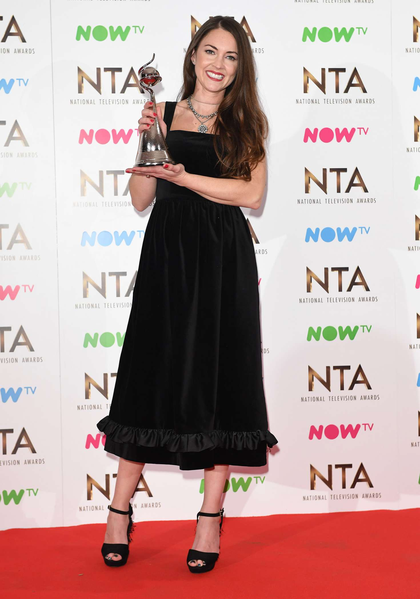 Lacey Turner 2017 : Lacey Turner: 2017 National Television Awards -03