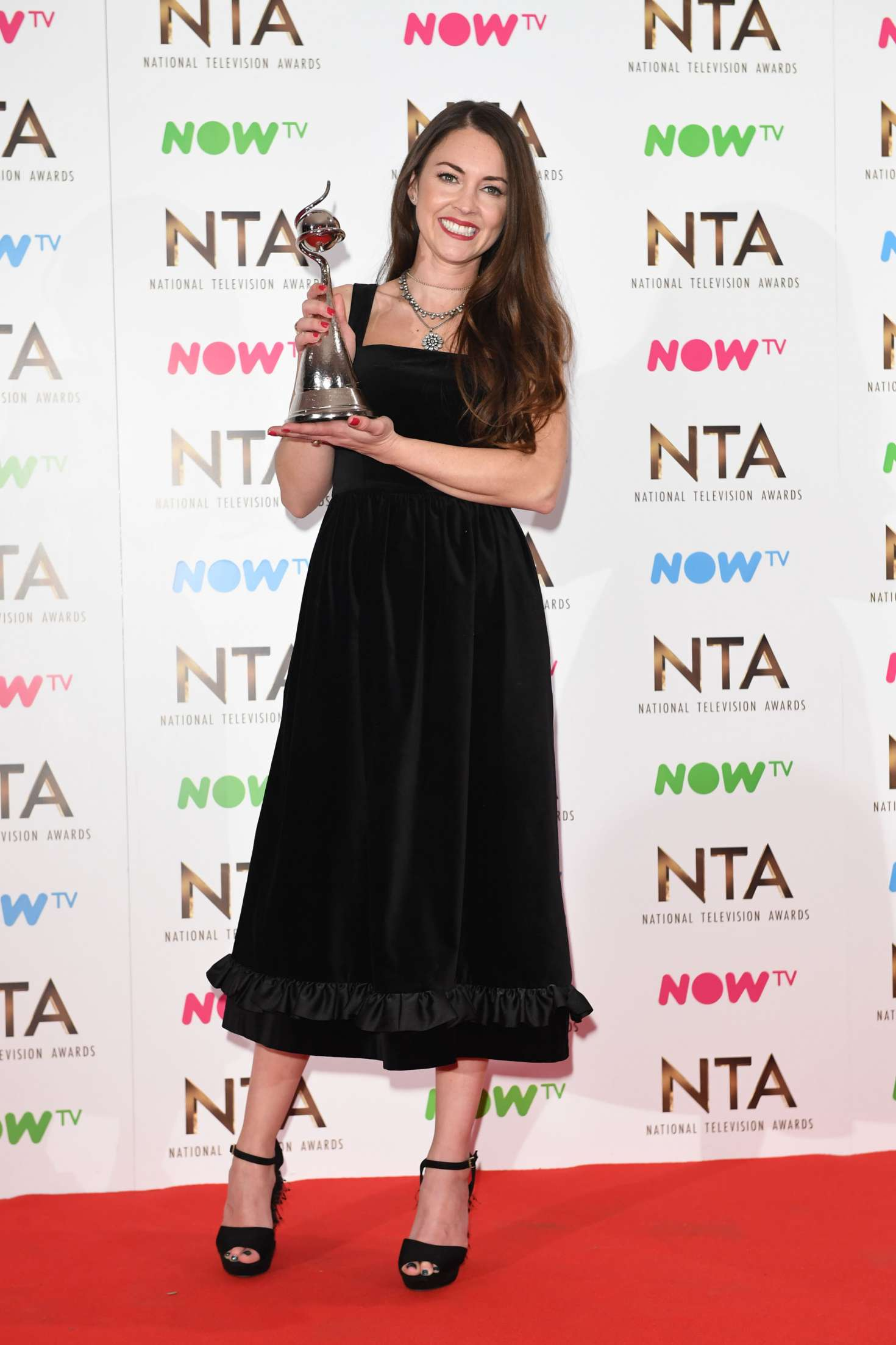 Lacey Turner 2017 : Lacey Turner: 2017 National Television Awards -09