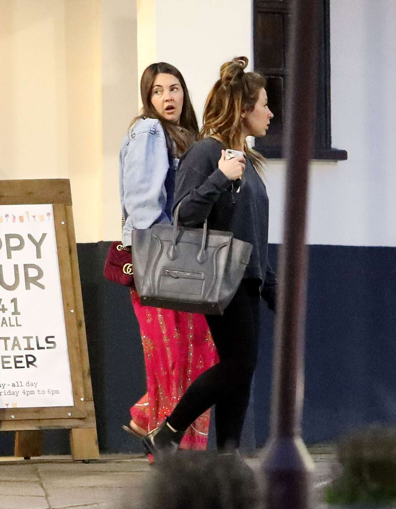 Lacey Turner 2019 : Lacey Turner: Out for dinner in London -04