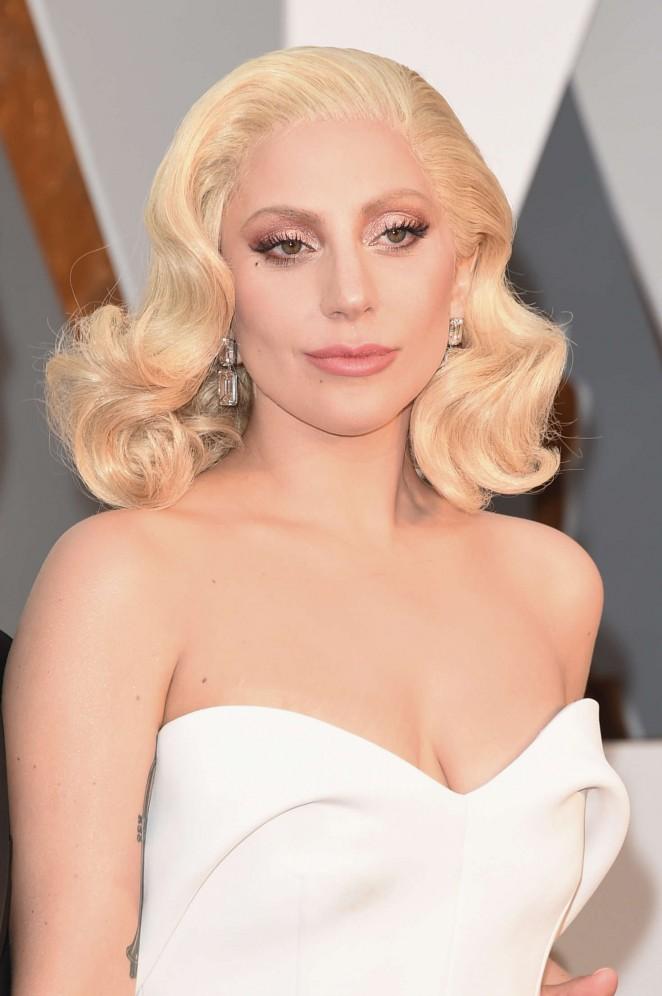 Lady Gaga - 2016 Oscars in Hollywood