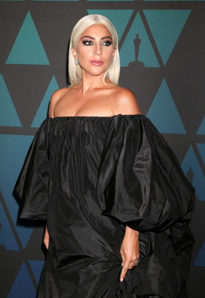 Lady Gaga - 2018 Governors Awards in Hollywood