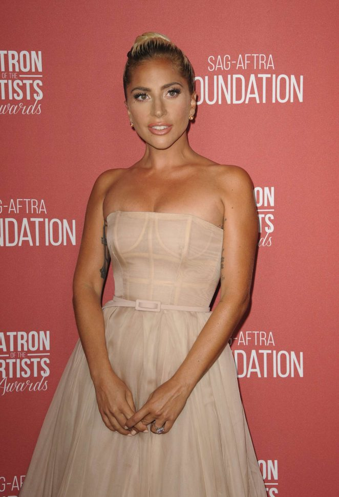 Lady Gaga - 2018 Patron of the Artist Awards in Los Angeles