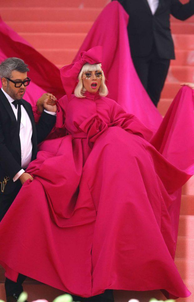 Lady Gaga 2019 : Lady Gaga: 2019 Met Gala -03