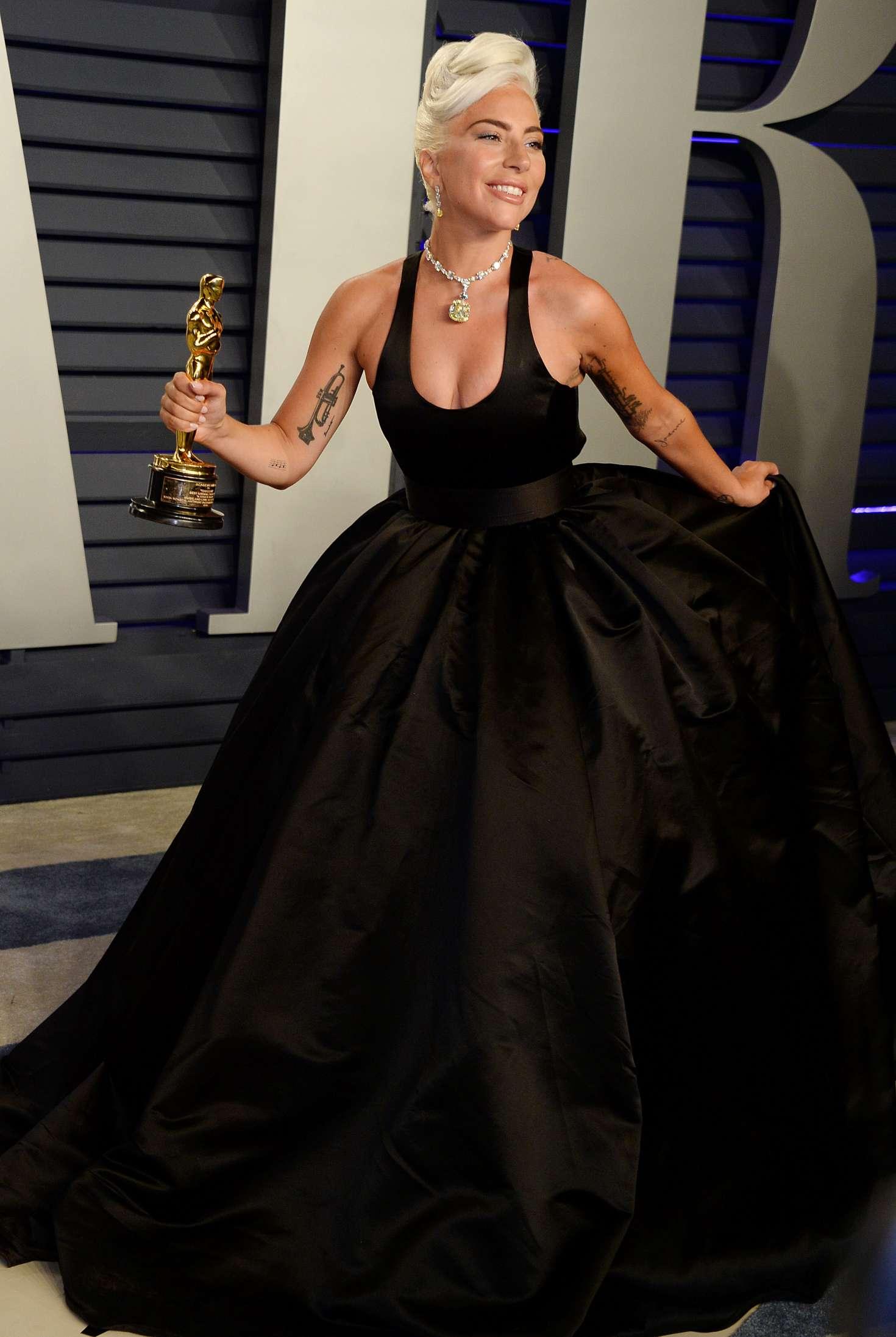 Lady Gaga 2019 Vanity Fair Oscar Party 12 Gotceleb