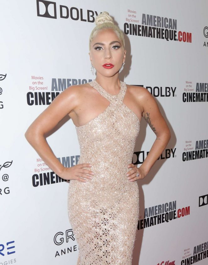 Lady Gaga - 32nd American Cinematheque Award Presentation in Beverly Hills