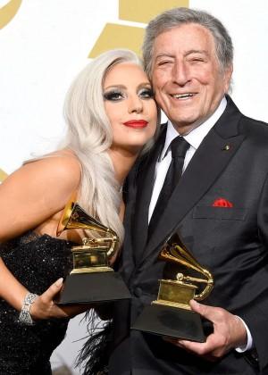Lady Gaga - 2015 GRAMMY Awards -01