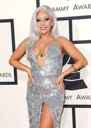 Lady Gaga - 2015 GRAMMY Awards -02