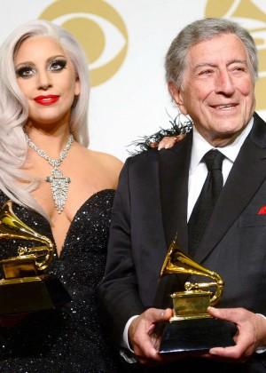 Lady Gaga - 2015 GRAMMY Awards -05