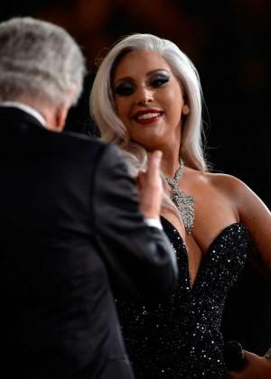 Lady Gaga - 2015 GRAMMY Awards -06