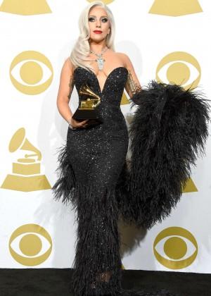 Lady Gaga - 2015 GRAMMY Awards -07