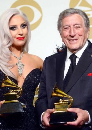 Lady Gaga - 2015 GRAMMY Awards -08