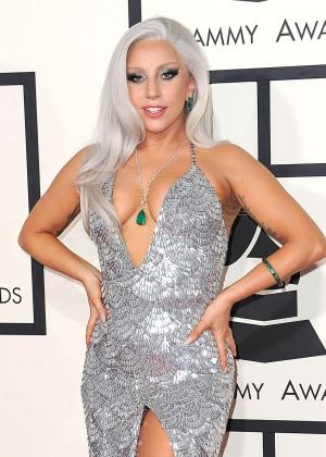 Lady Gaga - 2015 GRAMMY Awards -11