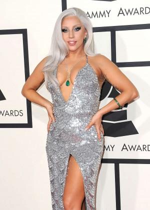 Lady Gaga - 2015 GRAMMY Awards -14