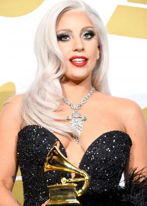 Lady Gaga - 2015 GRAMMY Awards -15