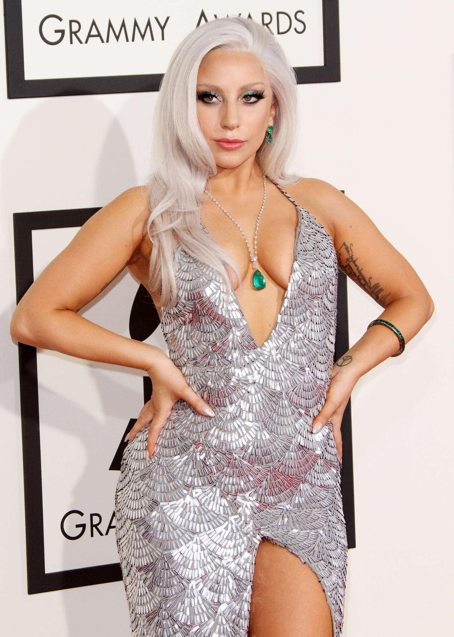 Lady Gaga 2015 Grammy Awards 17 Gotceleb