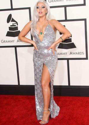 Lady Gaga - 2015 GRAMMY Awards -18
