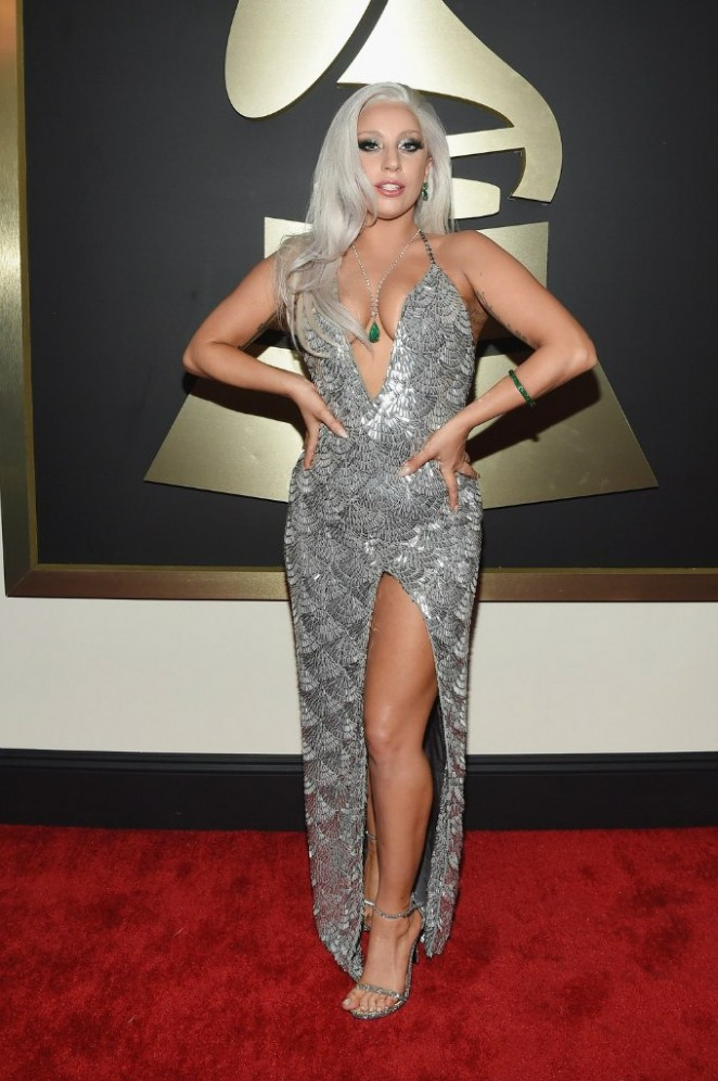 Lady Gaga - GRAMMY Awards 2015 in Los Angeles