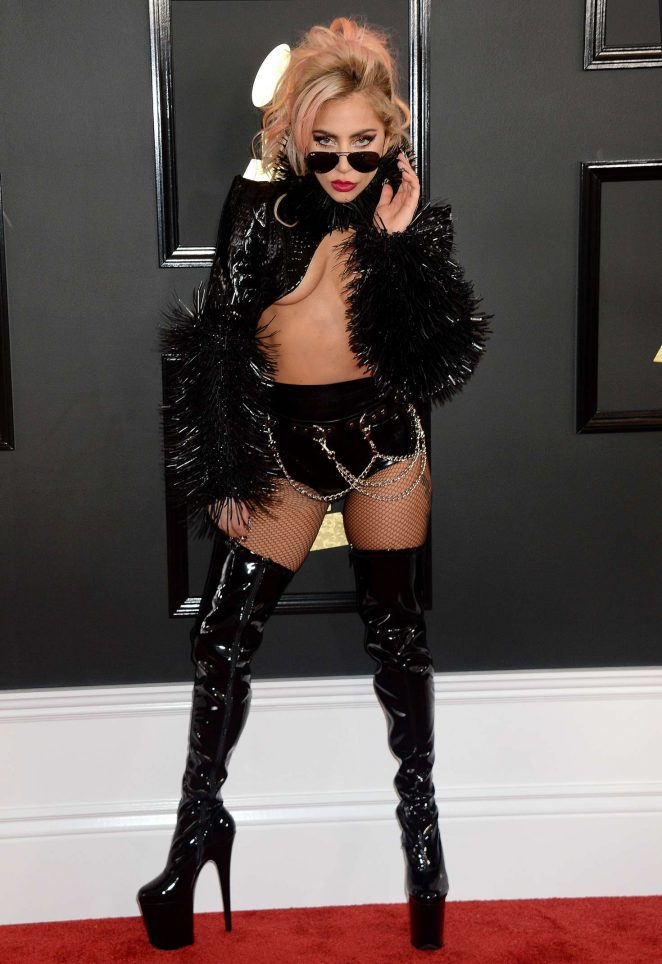 Lady Gaga - 59th GRAMMY Awards in Los Angeles