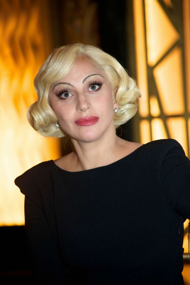 Lady Gaga - 'American Horror Story: Hotel' Press Conference in Century City