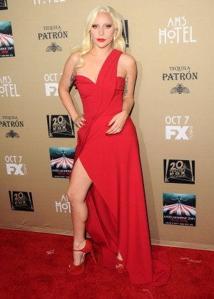 Lady Gaga - 'American Horror Story: Hotel' Screening in LA