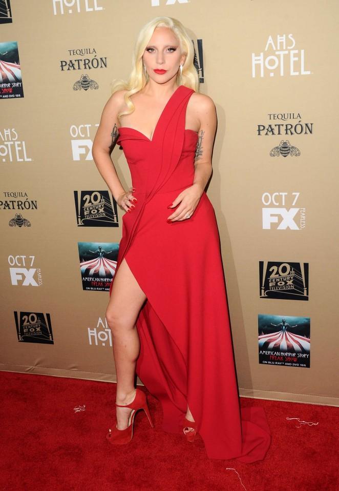 Lady Gaga - 'American Horror Story: Hotel' Screening in LA