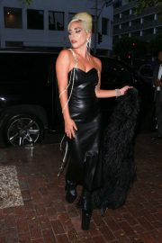 Lady Gaga - Arrives at Her New Beauty Brand's Haus Laboratories Party in West Hollywood