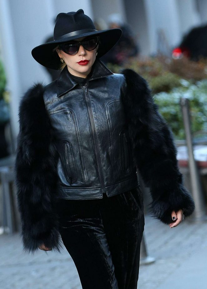 Lady Gaga - Arrives in Milan