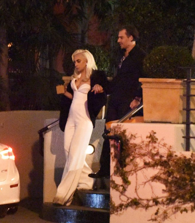 Lady Gaga at Sunset Tower Hotel in LA -07