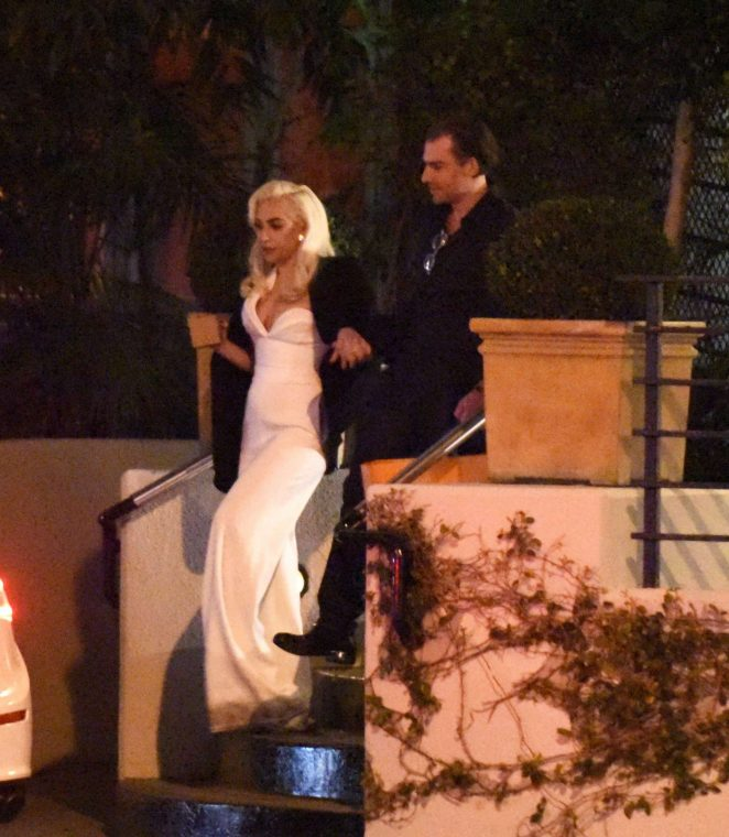 Lady Gaga at Sunset Tower Hotel in LA -08