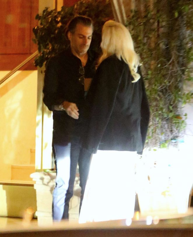Lady Gaga at Sunset Tower Hotel in LA -20