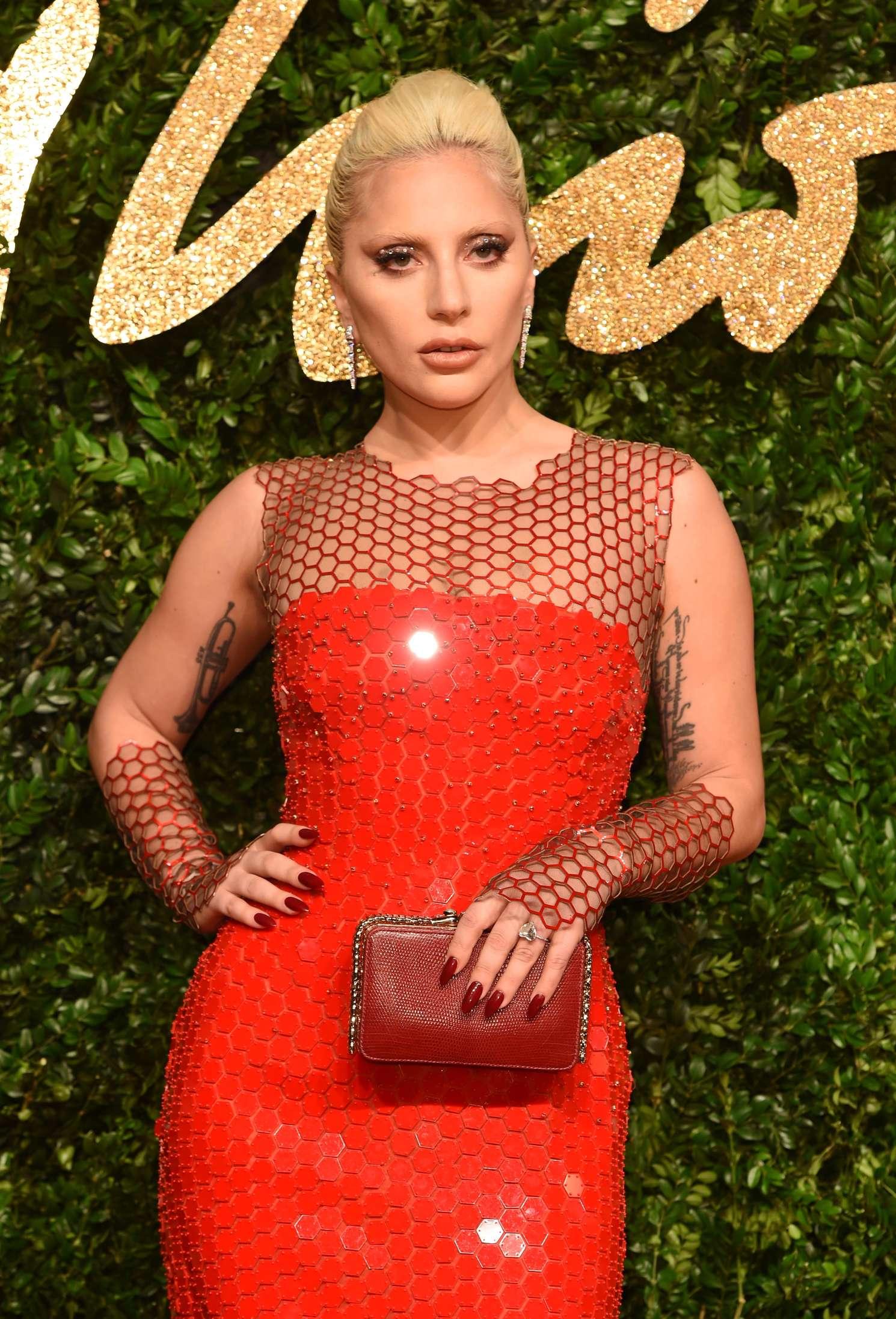 Lady Gaga vamps it up at Fashion Awards - Capital