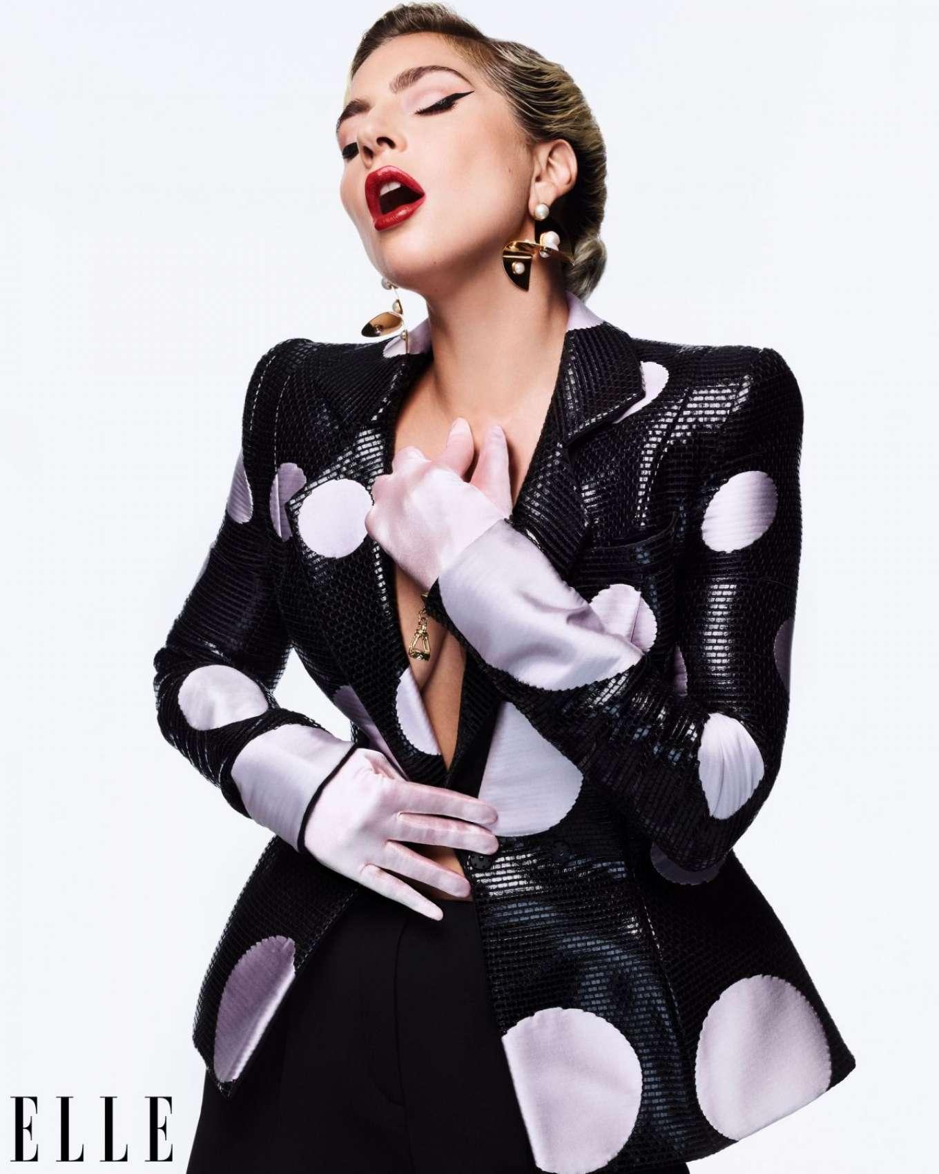 Lady Gaga - ELLE Magazine (December 2019)