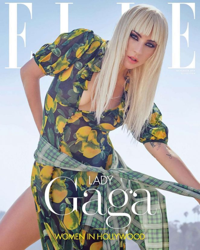 Lady Gaga - Elle US The 'Women In Hollywood' (November 2018)