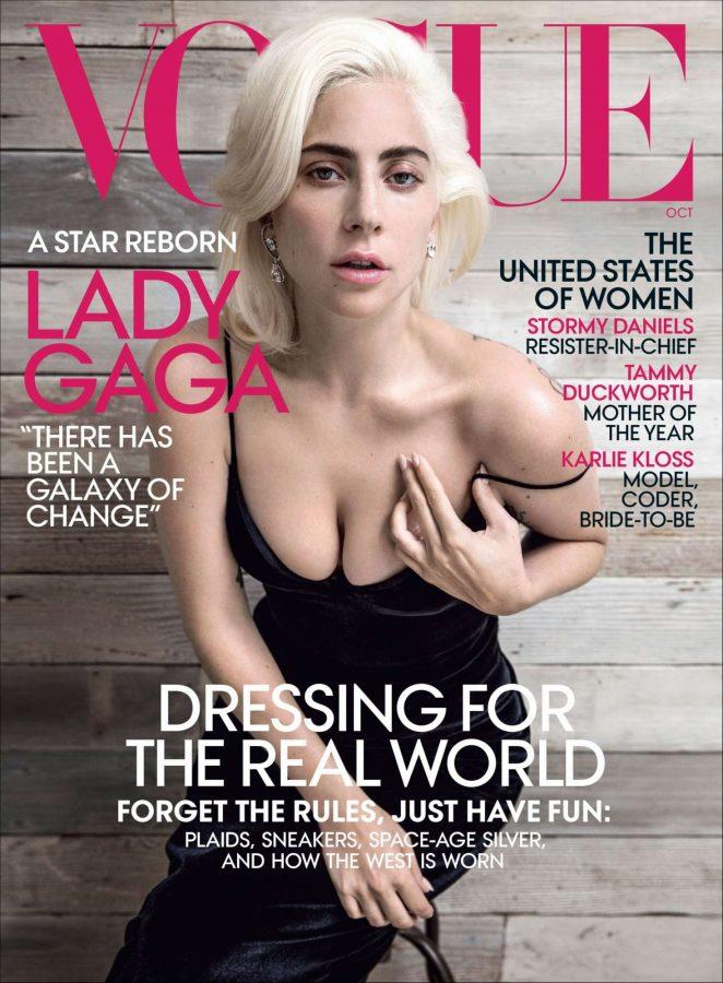 Lady Gaga for Vogue Magazine 2018 -07