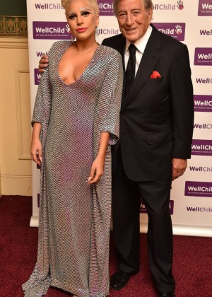 Lady Gaga - Gala Concert in aid of WellChild at Royal Albert Hall