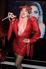 Lady Gaga - Haus Laboratories 'Cosmic Love' Holiday Collection Launch in Los Angeles