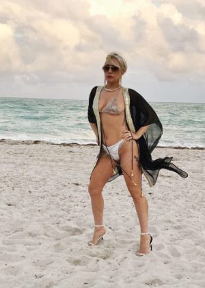 Lady Gaga in Bikini - Instagram