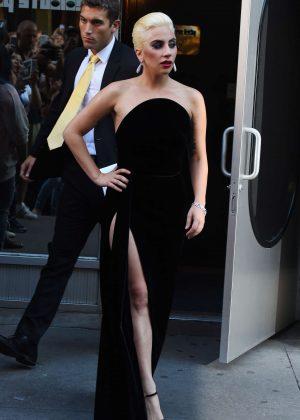 Lady Gaga - Leaving a studio in East Vilage
