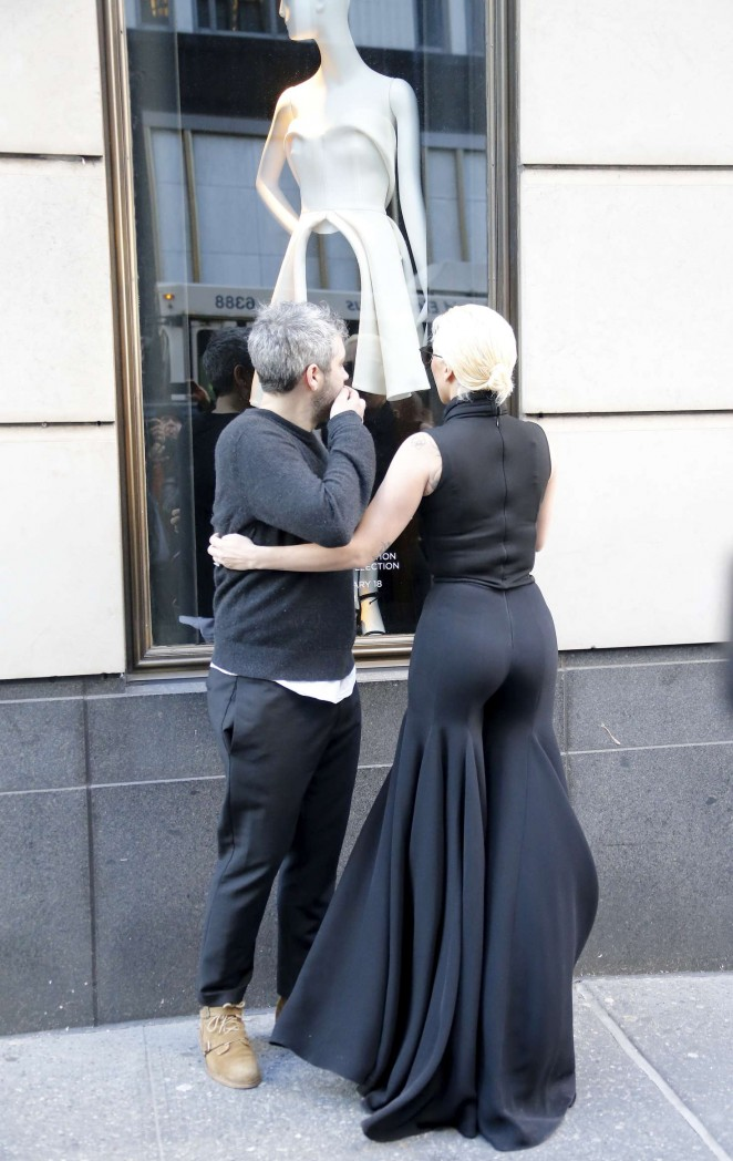 Lady Gaga Leaving Her Apartment In New York City 12
