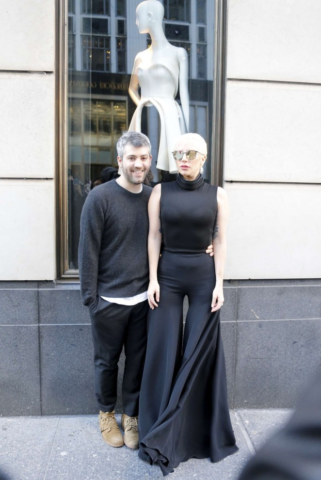 Lady Gaga Leaving Her Apartment In New York City 16
