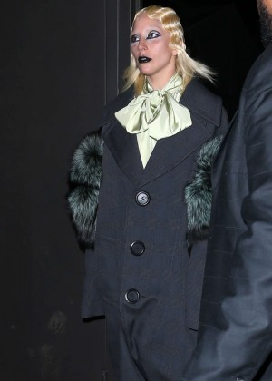 Lady Gaga - Marc Jacobs 2016 Fashion Show in NYC