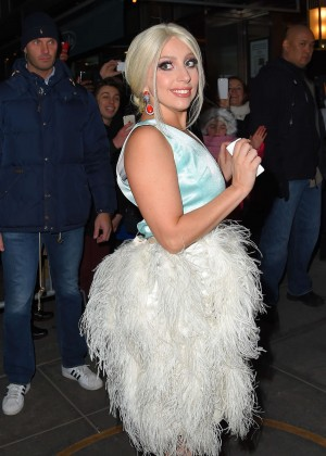 Lady Gaga Night Out in NYC