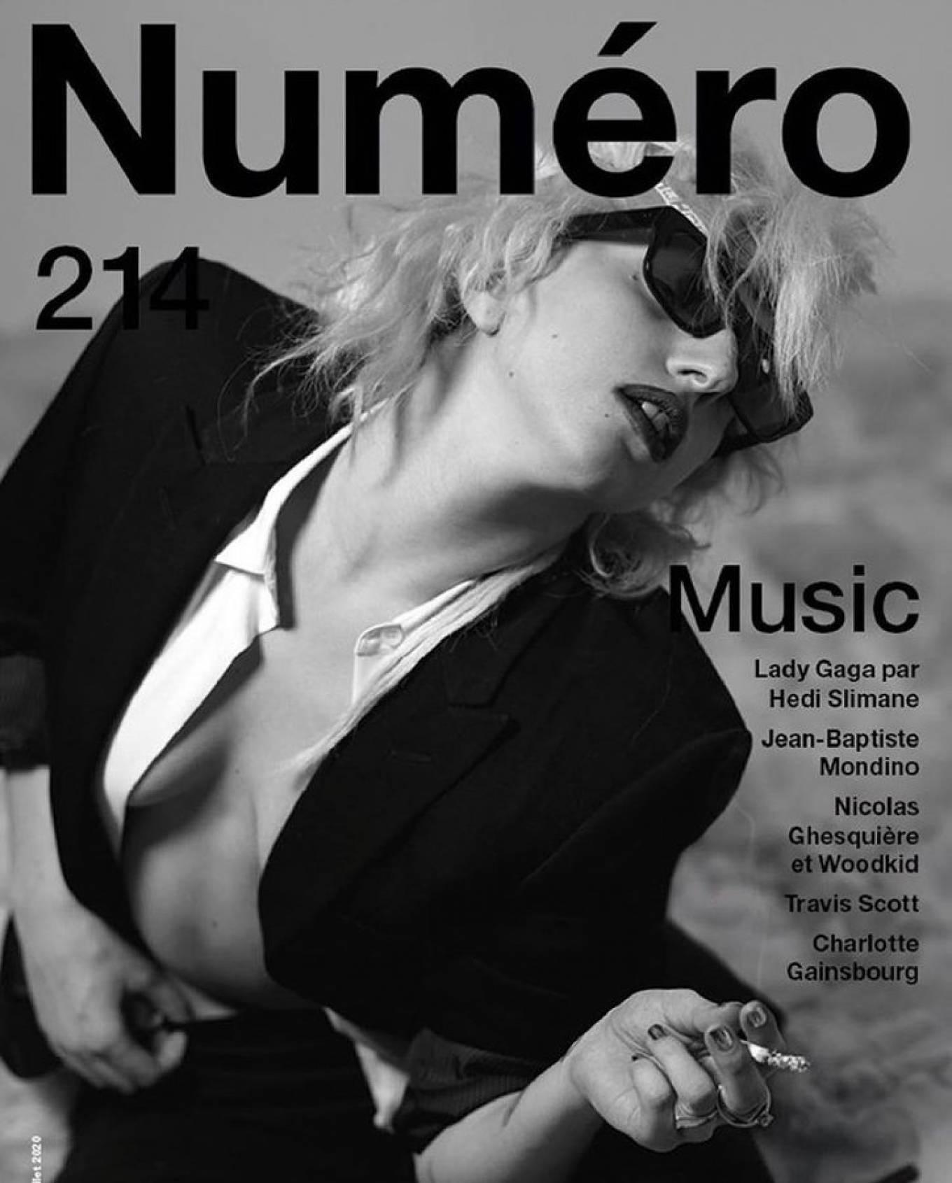 Lady Gaga 2020 : Lady Gaga Numero Music Issue 2020-01