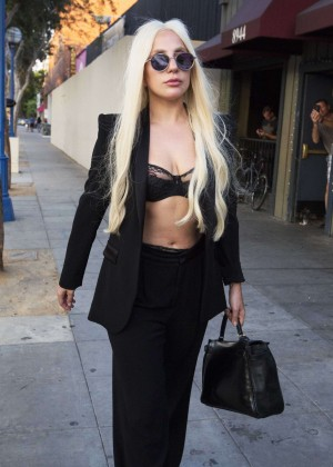 Lady Gaga out and about in West Hollywood