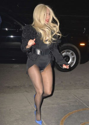 Lady Gaga out in NYC