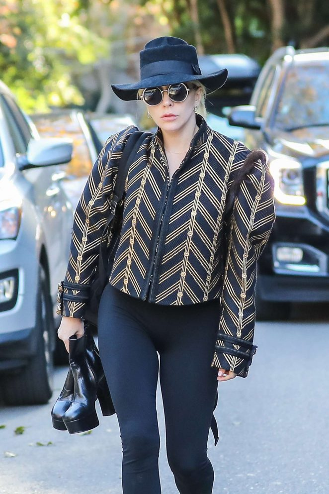 Lady Gaga out in Santa Monica