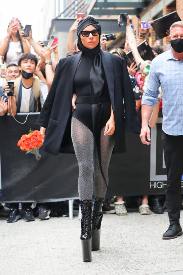 Lady Gaga - Pictured in Chelsea in New York City