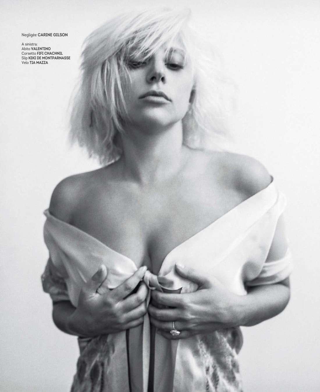 Lady gaga naked rolling stone