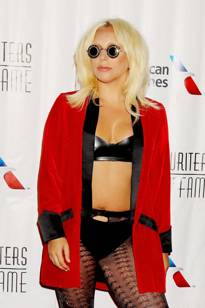Lady Gaga - Songwriters Hall of Fame 46th Annual Induction and Awards in NYC